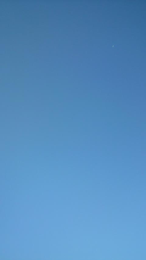 天竜川上空のスペースシップ