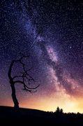 銀河の光を浴びて