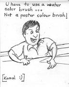 Kamal...The Watercolourist!
