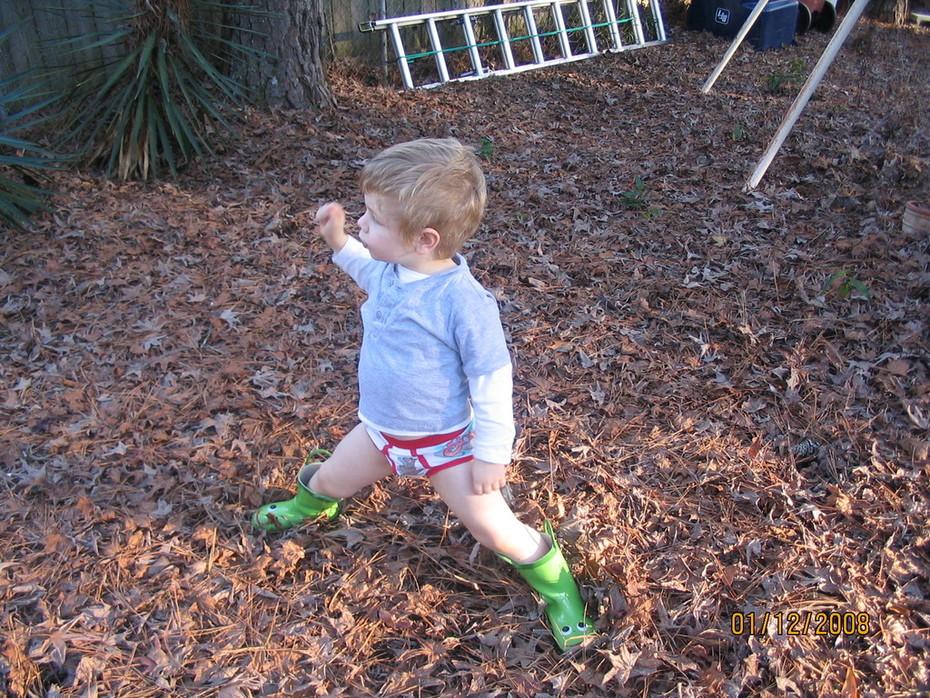My nephew, Carter