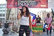 Farrah Burns at Restoration Rocks Music Festival 2011