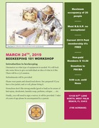 Beekeeping 101 Workshop on Sunday
