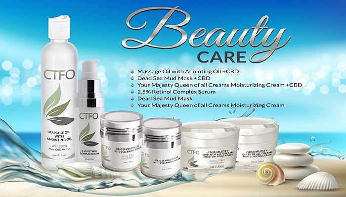 CTFO CBD BEAUTY CARE PRODUCTS PIC