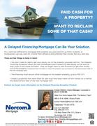 Delayed Financing Mortgage