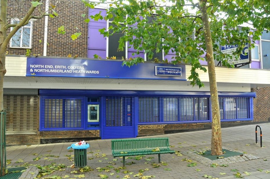Erith Police office.