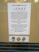 lomas also closed Christmas eve