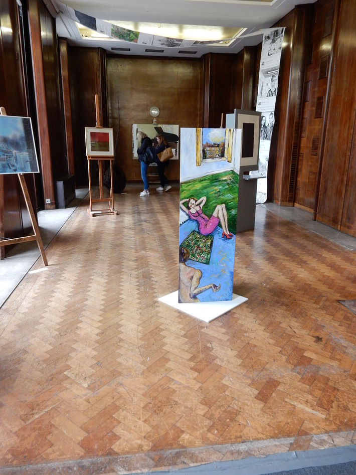 Hornsey Town Hall Open Studios Gallery