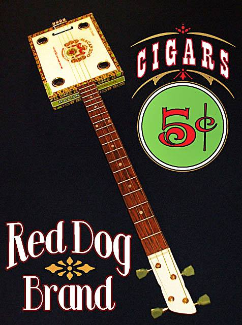 Red Dog Brand -  5 Cent Cigars