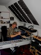 Joe in his studio