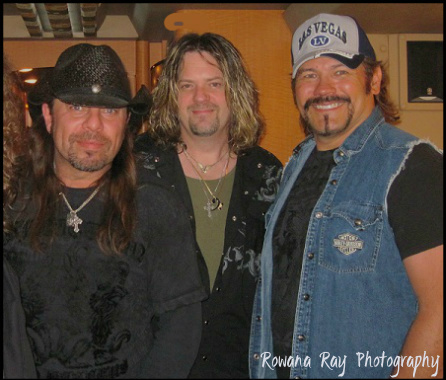 Brian Flynn, Damon Michael, Buddy Jewel