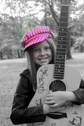 Me and my baby taylor guitar