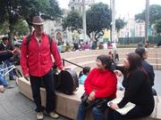Danny Shain in Miraflores, Perú