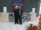Joshua David with Ralph Murphy ASCAP VP