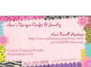Ann's New Business Cards (1st time)