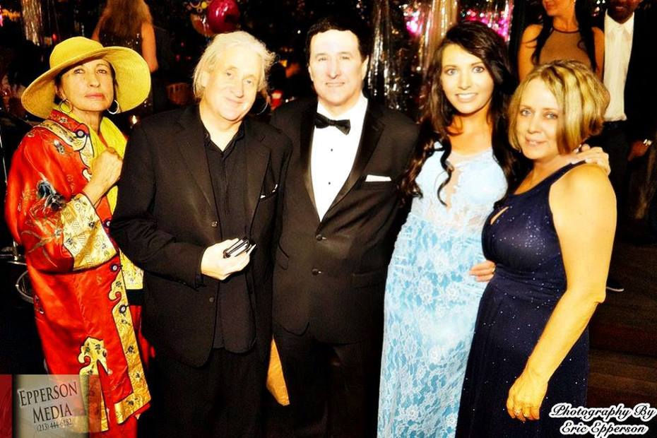 John Blyth Barrymoore, Perris Alexander, Kate McRae, Sue Walton at Grammy After Party!