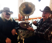 """DOC HOLIDAY AND CHUCK MILLER STAR OF THE TV SHOW """"THE MOONSHINERS"""""""