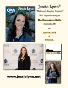 Jessie Lynn at The Commodore Grille 04/26/18 at 9 pm
