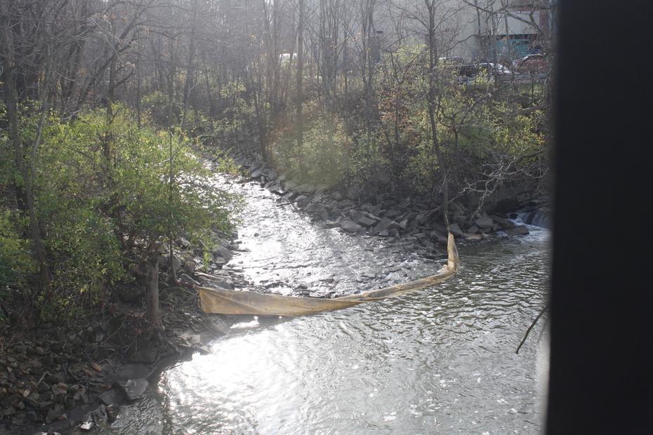 Dam 1 after