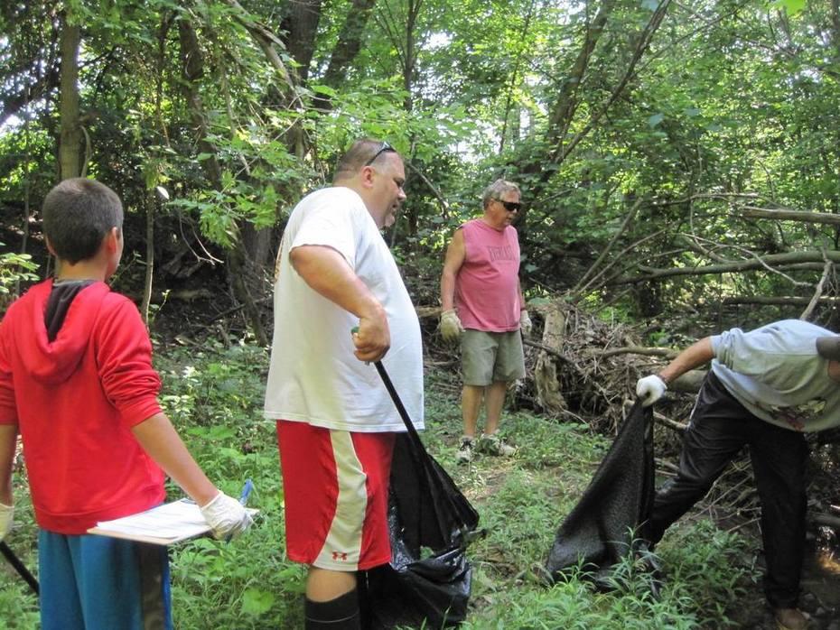 Brunswick Stream Cleaning - July 11, 2015