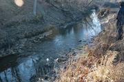 Riffle upstream of Dam 3 after 1