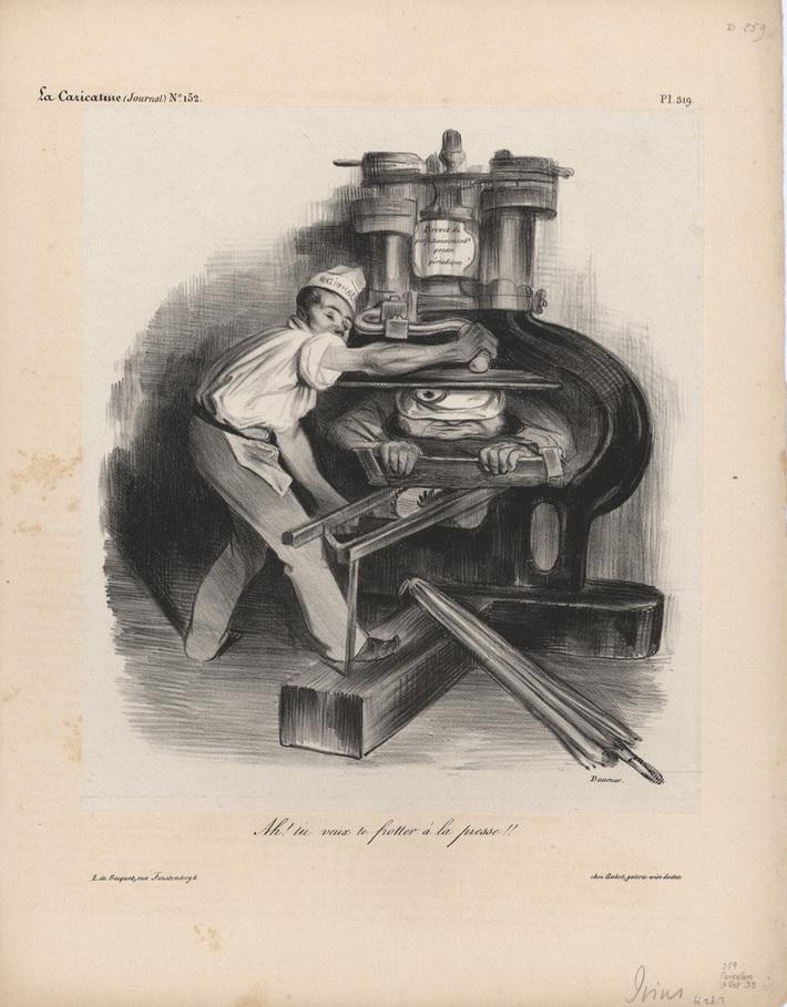 pl319 Issue N° 152 10/3/1833 Honoré Daumier