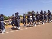 L'armée de l'air s'est faite remarquée au cours de ce défilé du 11 décembre avec sa nouvelle ténue