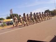 11 décembre 2012: les éleves des lycées et collèges de Bobo ont pris part au défilé