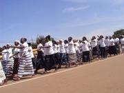 Des associations féminines ont marqué leur pas à ce défilé.