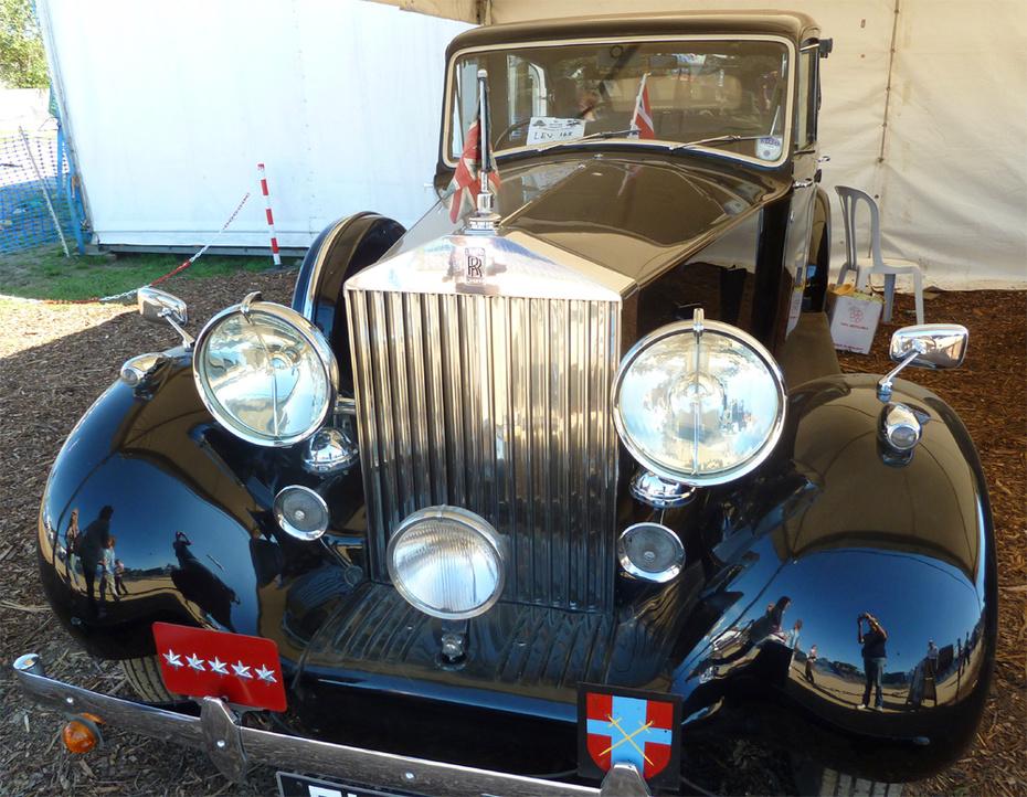 WW2 Field Marshall Montgomery Rolls Royce