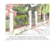 boundaries #6