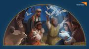 World Vision Christmas Nativity Art - Shepherds