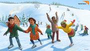 World Vision Christmas Card - Snow Day