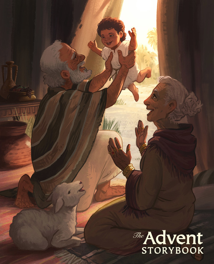 The Advent Storybook - A Promise Fulfilled
