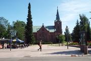 Jyvaskyla kaupungin kirkko