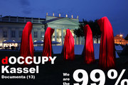 Occupy Kassel documenta – contemporary art sculpture Manfred kielnhofer