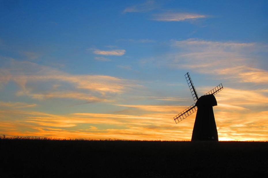 Windmill Silhoette