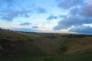 Evening around Devils Dyke