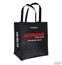 Spacious Black Adtrans Truck Carry Bag