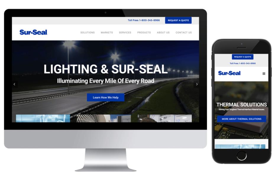 Sur-Seal Website Design Project