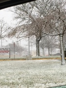 First Snow Fall in Toms River