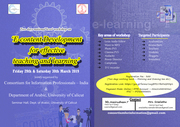 Two Days National Workshop on E-content Development for Teaching and Learning