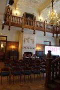 Lecture room, Santander summer school, Spain