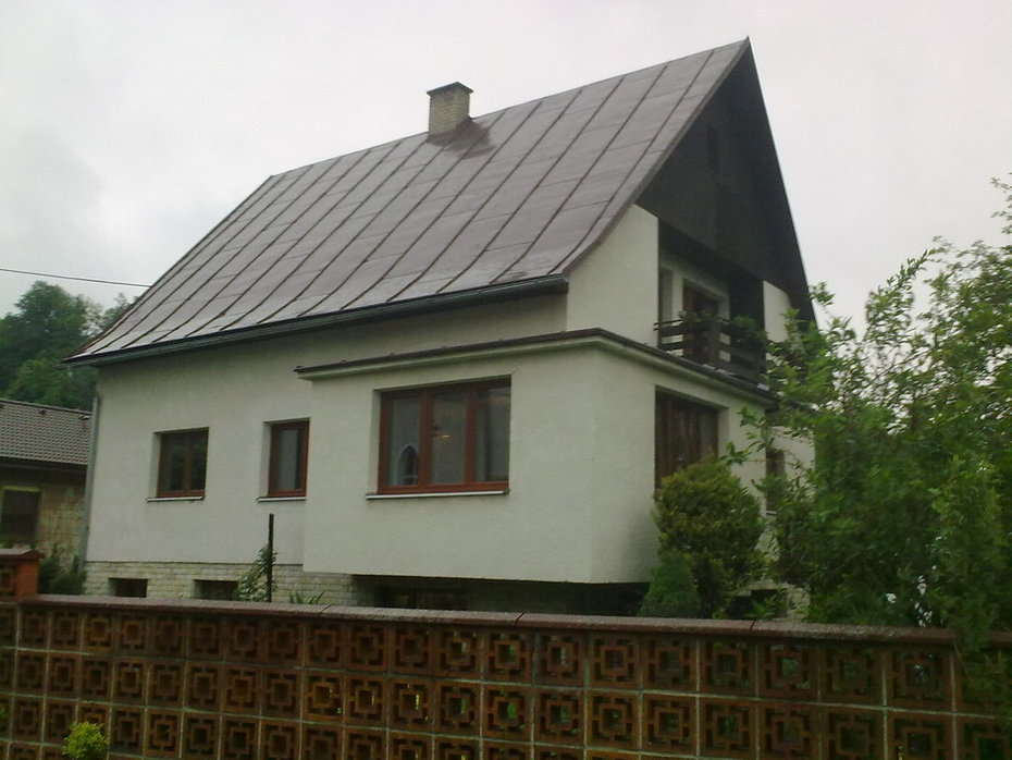(06-2011) Valašská Polanka - Montáž oken RD