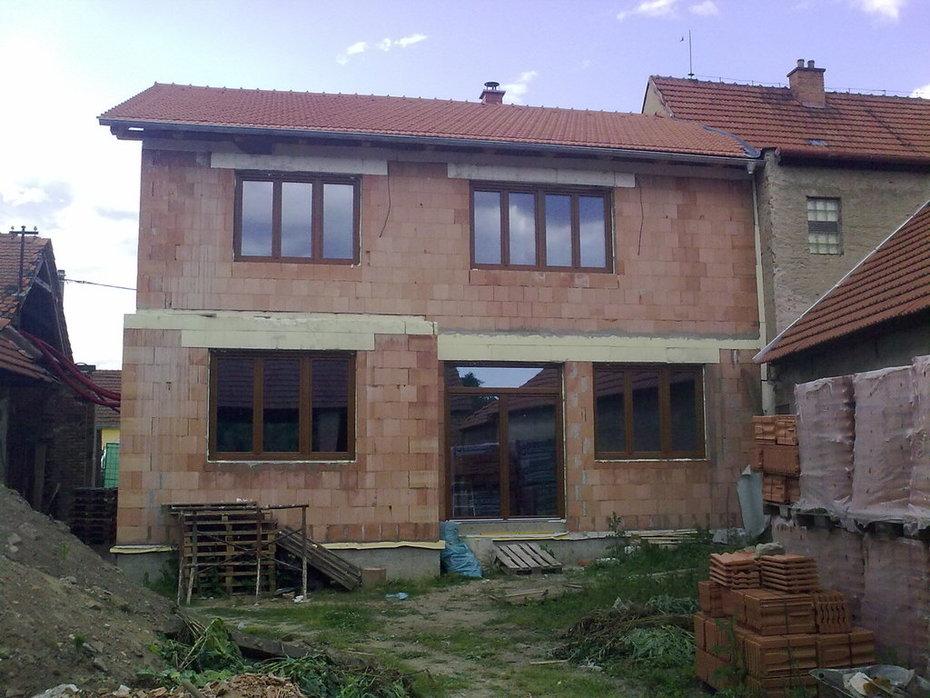 (06-2011) Ivančice - Montáž oken RD