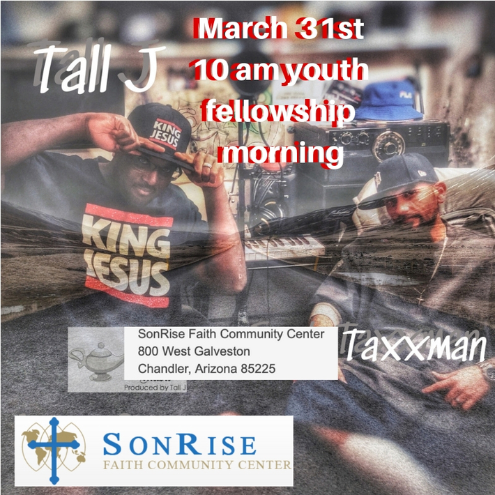 March 31st 10 am youth fellowship morning