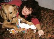 Ti'ana and I... many years ago!