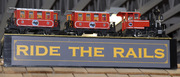 WOW! Children's Museum Ride the Rails Grand opening