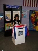 Vote Exhibit - girl speaker