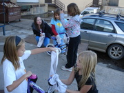 Girl Scout Troop 441 helped to collect toys for the Share A Gift Program that is currely running in Boulder Valley