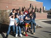 Legacy Cheerleaders Help Ronald McDonald's House